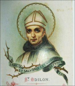 Samedi 2 janvier – De la Sainte Vierge au samedi – Saint Macaire, Anachorète – Diocèse de Lausanne, Genève et Fribourg : Saint Odilon, Abbé