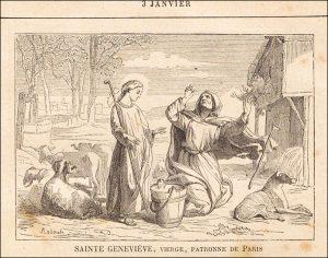 Dimanche 3 janvier – Le Très Saint Nom de Jésus – Sainte Geneviève, Vierge.