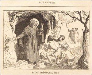Lundi 11 janvier – De la férie – Saint Hygin, Pape et Martyr – Saint Théodose, Abbé (423-529)