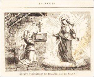 Mercredi 13 janvier – Le Baptême de Notre-Seigneur Jésus-Christ – Jour Octave de l'Epiphanie – Sainte Véronique de Binasco ou de Milan, Vierge