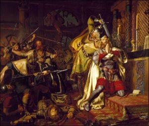 Mardi 19 janvier – De la férie – Saints Marius, Marthe, Audifax et Abachus, Martyrs – Saint Canut, Roi et Martyr