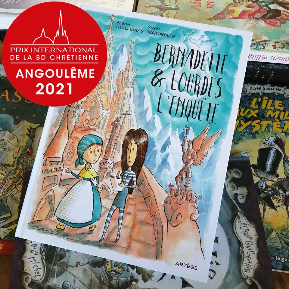 Alban Guillemois dédicacera le samedi 30 janvier 2021 au Festival BD d'Angoulême