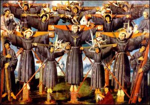 Mercredi 3 février – De la férie – Saint Blaise, Évêque et Martyr – Saints Pierre-Baptiste et ses compagnons, 1er Ordre Franciscain, Protomartyrs du Japon