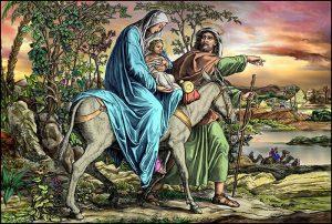 Mercredi 17 février 2020 – Mercredi des Cendres – La Fuite de Notre-Seigneur Jésus-Christ en Egypte