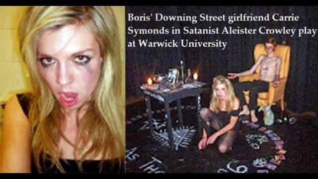 Focus sur les attaches satanistes de la compagne de Boris Johnson