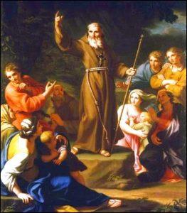 Dimanche 28 mars – Dimanche des Rameaux – Saint Jean de Capistran, Confesseur, franciscain