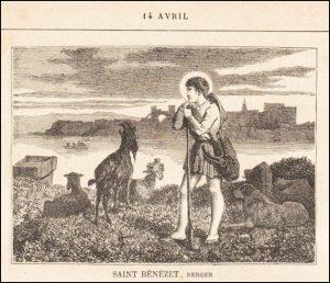 Mercredi 14 avril – Saint Justin, Martyr – Saints Tiburce, Valérien et Maxime, Martyrs – Saint Bénézet ou Benoît, Berger (1165-1184) – Sainte Lydwine de Schiedam, Vierge et Mystique néerlandaise (1380-1433)