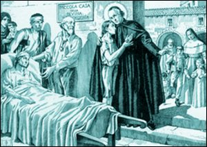 Vendredi 30 avril – Sainte Catherine de Sienne, Vierge- Saint Joseph-Benoît Cottolengo, Tertiaire franciscain, Fondateur de la Piccola Casa de Turin (1786-1842)