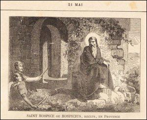 Vendredi 21 mai – De la férie – Bienheureux Crispin de Viterbe, 1er Ordre capucin – Saint Hospice de Nice, Abbé, Ermite reclus