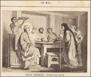 Vendredi 28 mai – Vendredi des Quatre-Temps de Pentecôte – Saint Augustin de Cantorbéry, Évêque et Confesseur – Saint Germain de Paris Évêque de Paris (496-576)