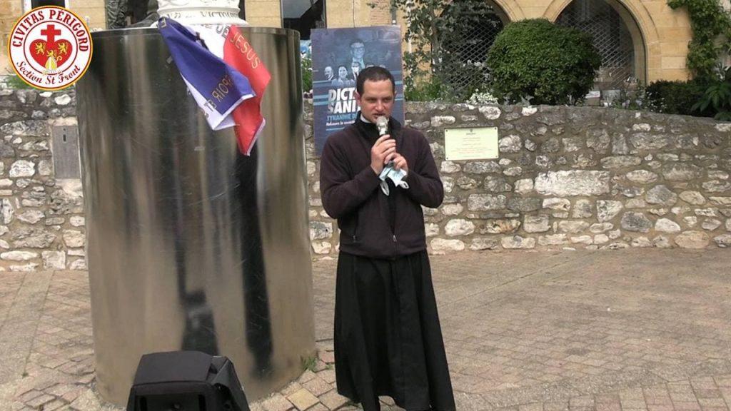 Bergerac – Malgré l'interdiction du Préfet, chapelet pour la France et nos libertés fondamentales
