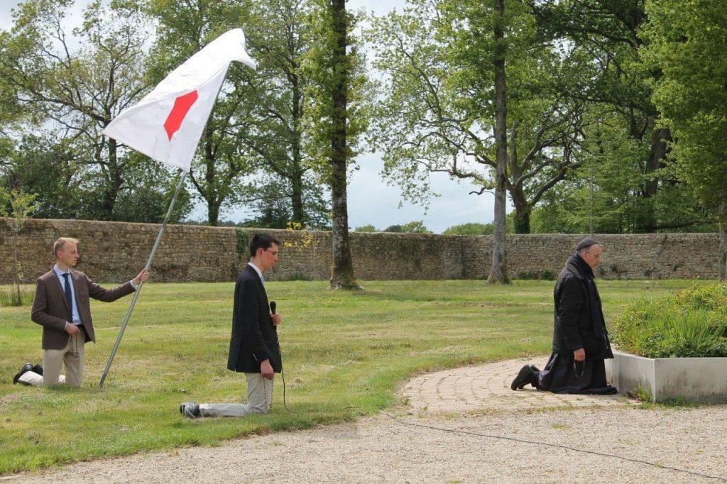 Bel hommage breton à Sainte Jeanne d'Arc