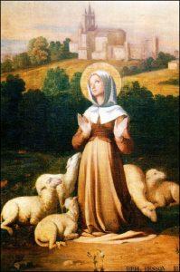 Mardi 15 juin – De la Férie – Saints Vite, Modeste et Crescence, Martyrs – Sainte Germaine Cousin Vierge, Bergère (1579-1601)