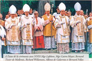 Mercredi 30 juin – Commémoraison de St Paul, apôtre – Anniversaire des sacres épiscopaux du 30 juin 1988
