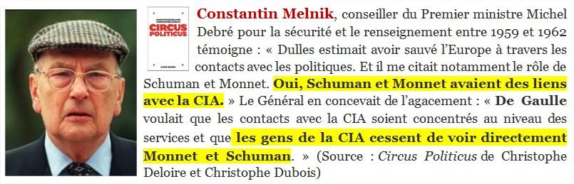 """Robert Schuman déclaré """"vénérable""""… Ses liens avec la CIA ne gênent pas Bergoglio, bien au contraire…."""