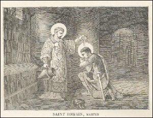 Lundi 9 août – Vigile de Saint-Laurent, Martyr – Saint Romain, Martyr