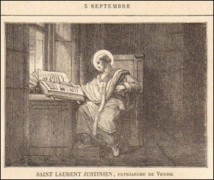 Dimanche 5 septembre 2021 – XV° dimanche après la Pentecôte – Saint Laurent Justinien, Évêque et Confesseur