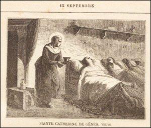 Mercredi 15 septembre – Les Sept Douleurs de la Bienheureuse Vierge Marie – Saint Nicomède, Martyr – Sainte Catherine de Gênes, Veuve, Tertiaire franciscaine