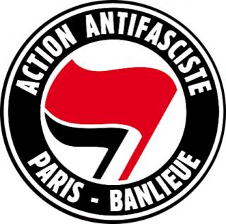 """Muriel Ouakine Melki se ridiculise en parlant des """"codes de couleur noir, blanc, rouge"""" de la pancarte de Cassandre Fristot : l'Organisation Juive Européenne va-t-elle déposer plainte contre les Antifas ?"""