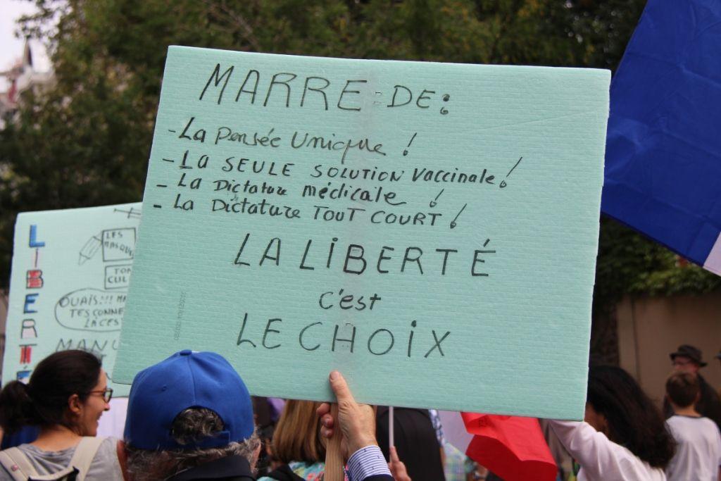 Paris – La mobilisation contre le pass sanitaire ne faiblit pas